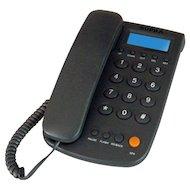 Проводной телефон SUPRA STL-420BK