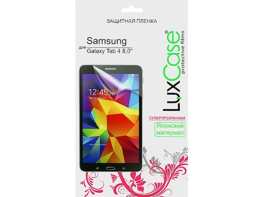 Защитная пленка LuxCase 80847 Samsung Galaxy Tab 4 8.0 (Суперпрозрачная)