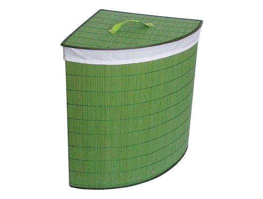 Корзины и контейнеры РЫЖИЙ КОТ BLB-07-G Корзина для белья бамбук цвет - салатовый р-р 35x35x50см