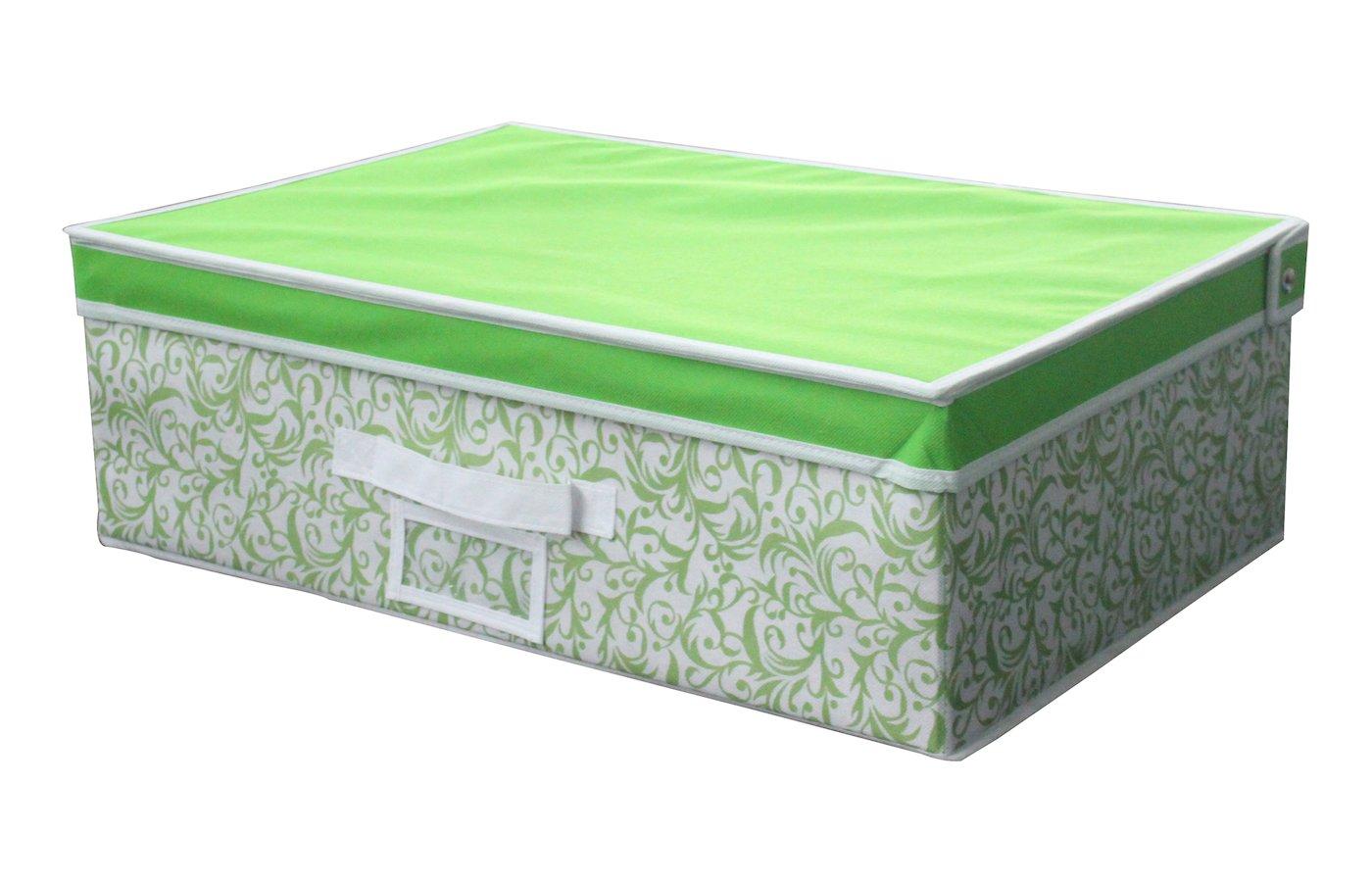 Емкости для хранения одежды РЫЖИЙ КОТ Коробка для хранения с крышкой NW3 56X38X25CM