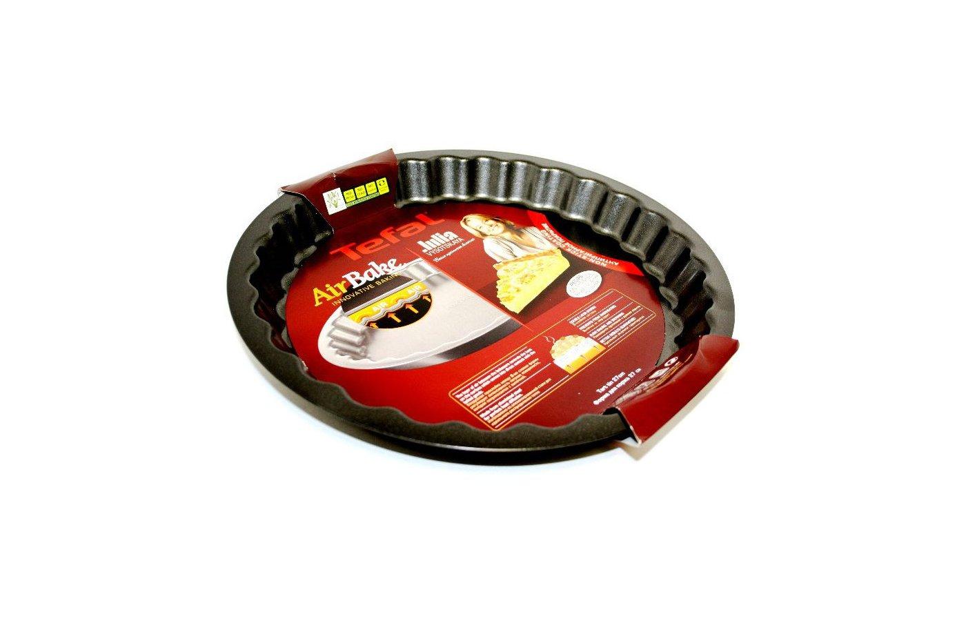 Форма для выпечки металлическая TEFAL J0828374 Форма для коржей 27 см