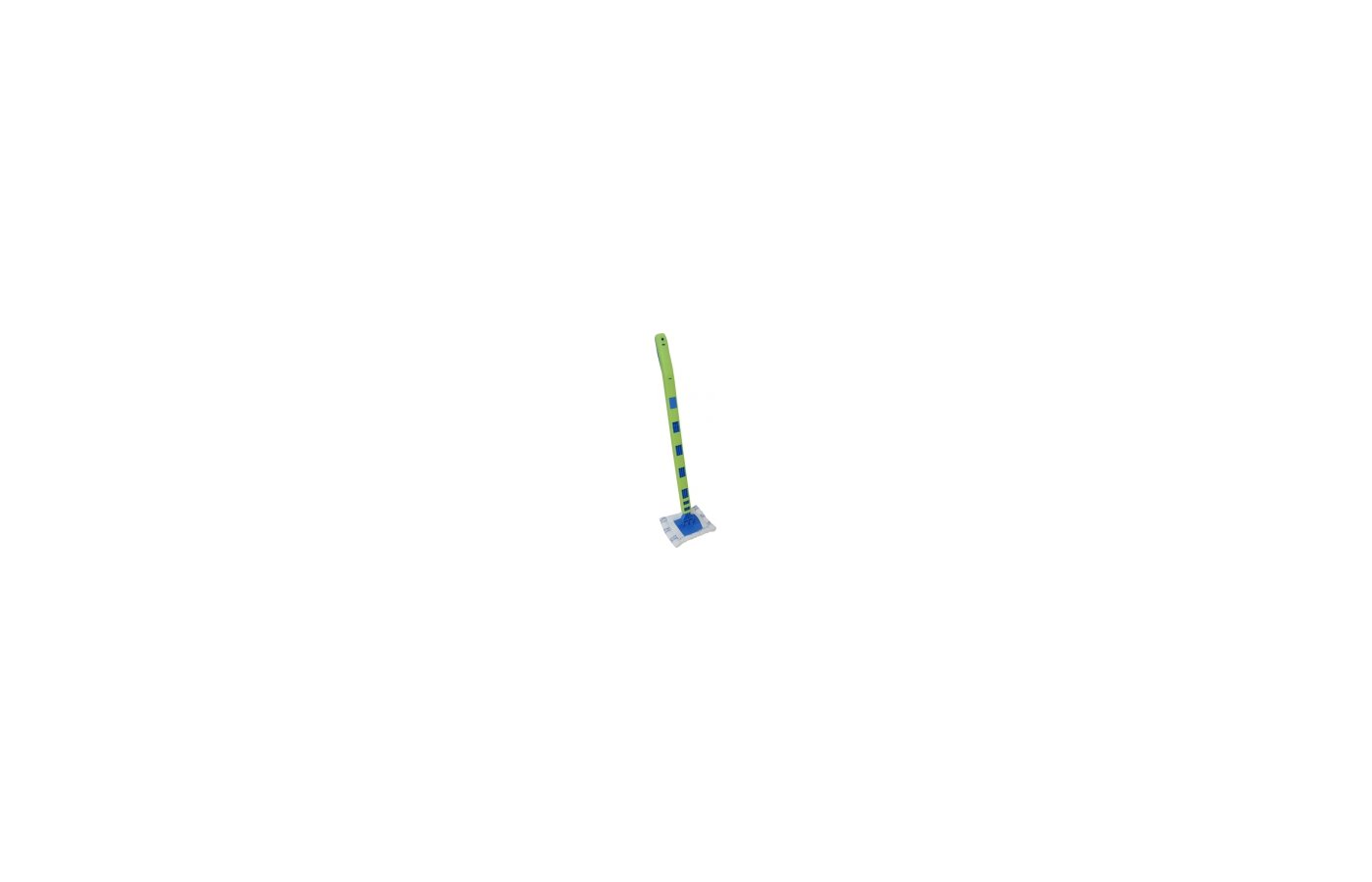Инвентарь для уборки РЫЖИЙ КОТ Стекломой WW XXL Телескопическая ручка увеличенной длины 2.21 м с насадкой из микрофибры