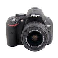 Фото Фотоаппарат зеркальный Nikon D5200 18-55VR II black