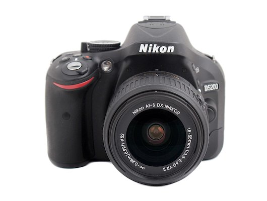 Фотоаппарат зеркальный Nikon D5200 18-55VR II black