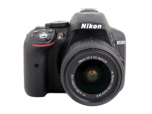 Фотоаппарат зеркальный Nikon D5300 18-55VR II black