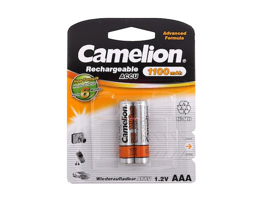 Аккумулятор Camelion AAA 1100mAh Ni-Mh 2шт.