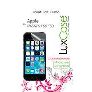 Фото Стекло LuxCase пленка для iPhone 5/5S/SE суперпрозрачная
