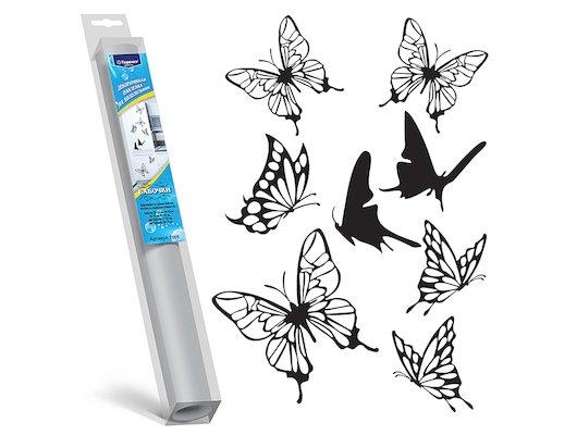 Аксессуар к холодильникам TOPPERR 7005 Декоративная наклейка для холодильников Бабочки