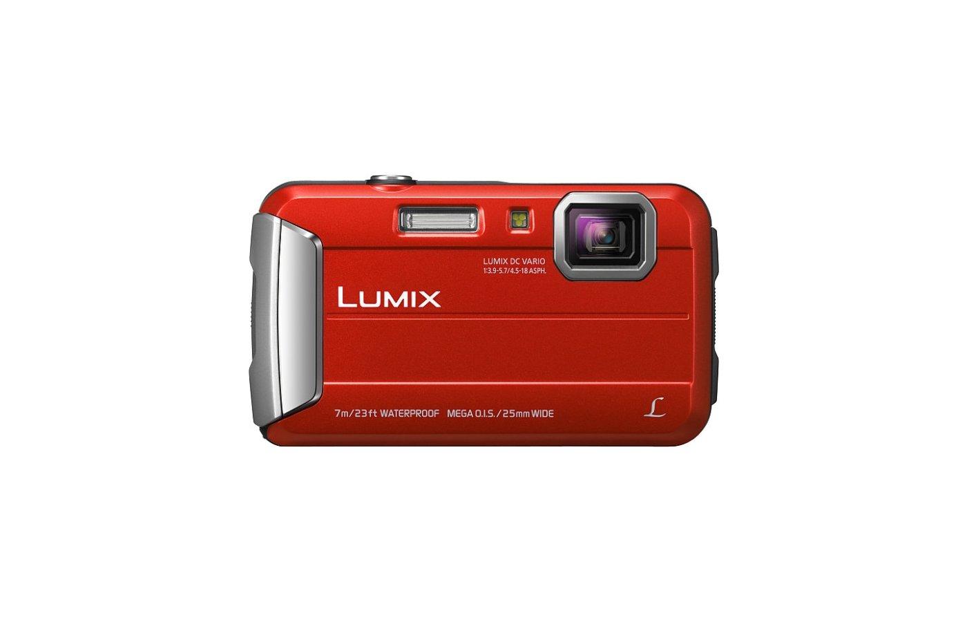 Фотоаппарат компактный PANASONIC DMC-FT25EE-K