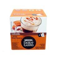 Фото капсулы для кофеварок Nescafe Dolce Gusto Латте Маккиато Карамель