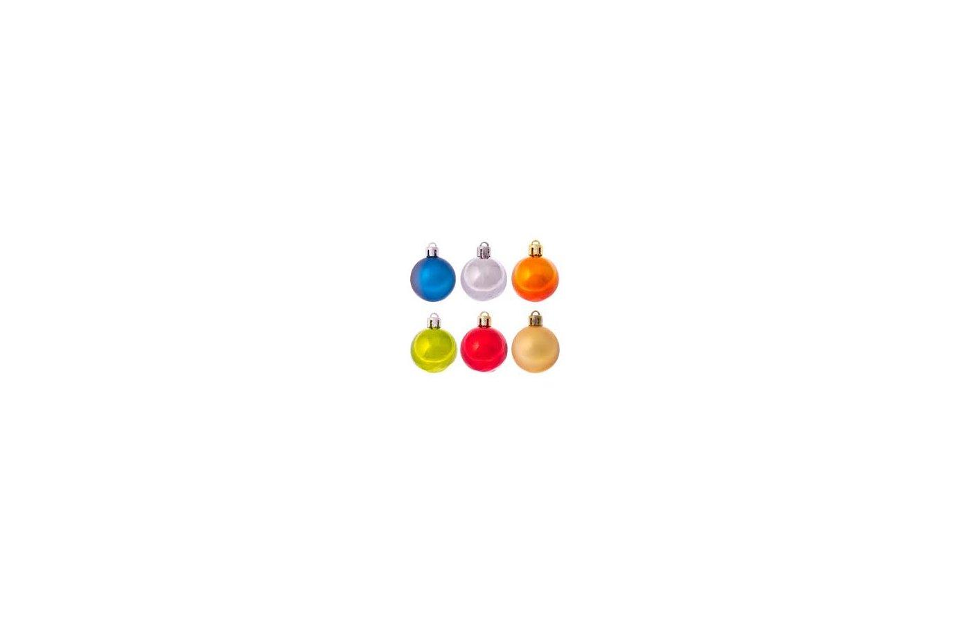 Игрушка Сноу Бум Набор шаров 60мм 6шт 372-258