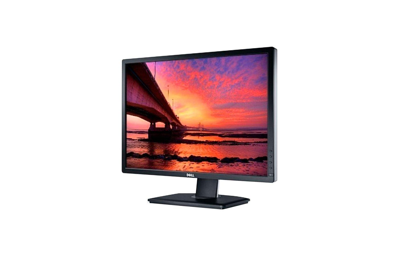 """ЖК-монитор более 24"""" Dell U2412M Black IPS LED 8ms 16:10 DVI HAS Pivot 2M:1"""
