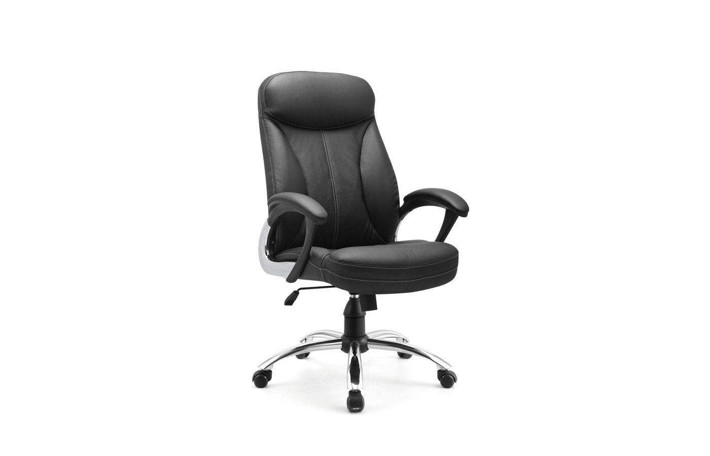 EXCOMP OP-A2216 кресло / экокожа / черный