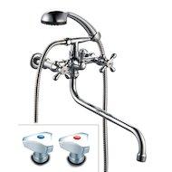 Смеситель ProfSan 521-КТ023 Смеситель для ванны ЛЮКС латунь