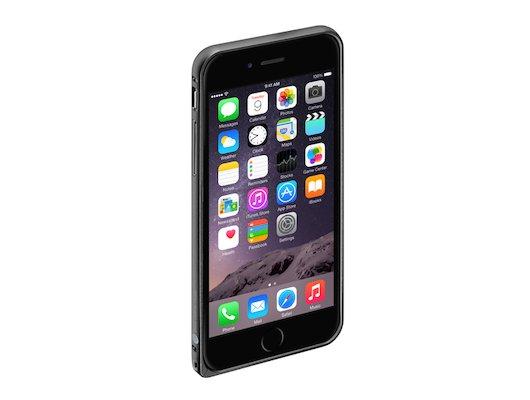 Чехол Deppa Alum Bumper для iPhone 6/6S черный (63142)