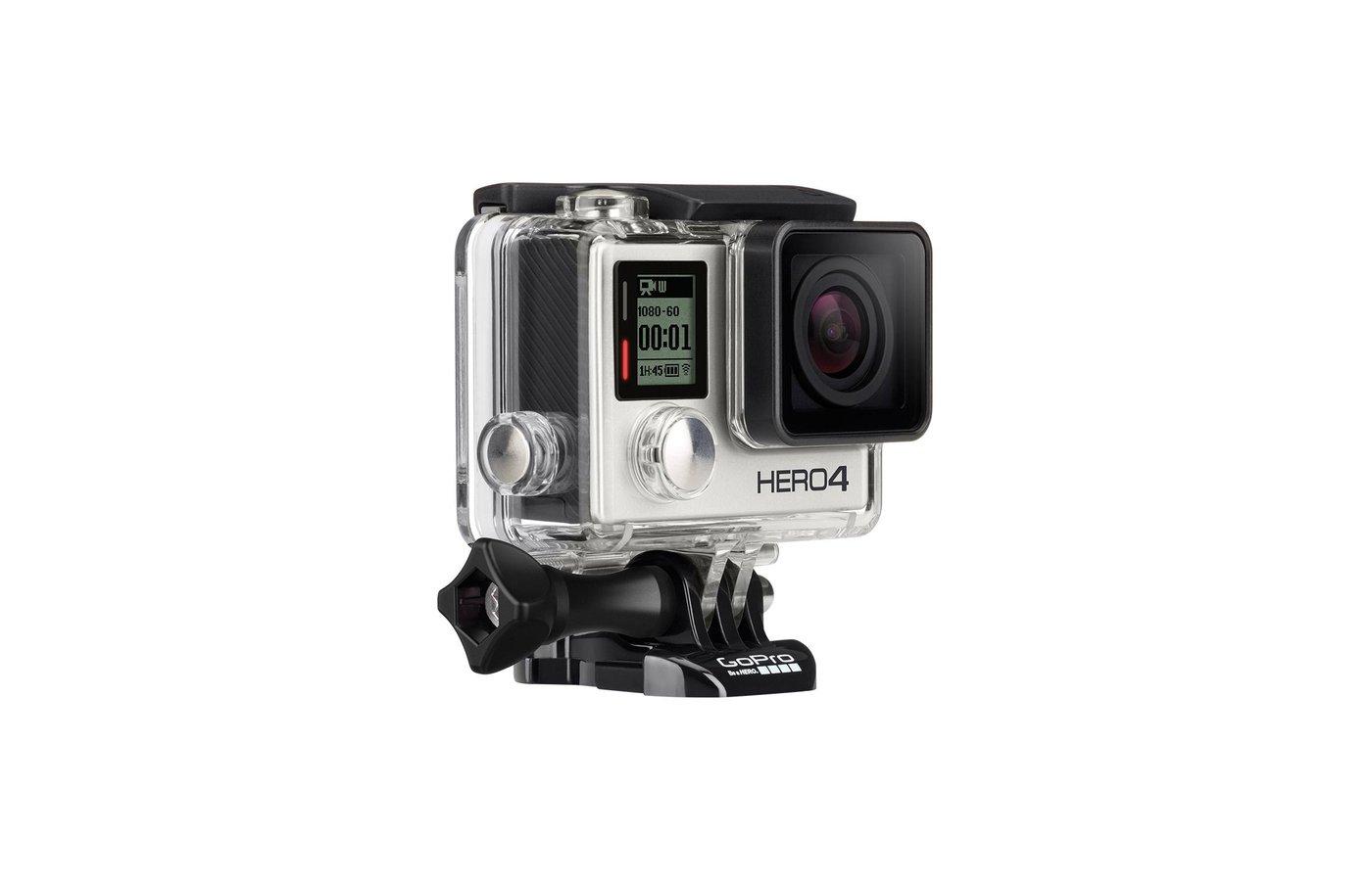 Экшн-камера GoPro Hero 4 Silver Edition Adventure CHDHY-401