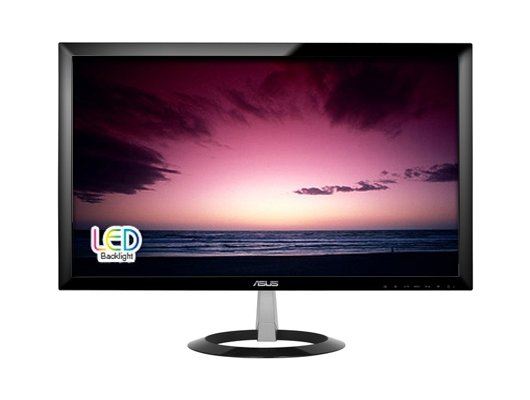 "ЖК-монитор 23"" ASUS VX238T Black LED 5ms 16:9 DVI M/M 80M:1 250cd"