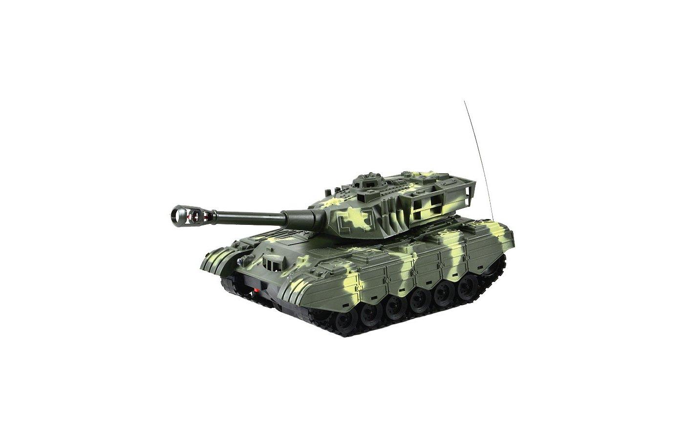 Игрушка Mioshi Army MAR1207-016 Танк р/у МТ-72 26см бело-зелёный