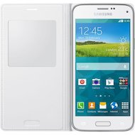 Фото Чехол Samsung S-View для Galaxy S5 mini (SM-G800) (EF-CG800BWEGRU) white