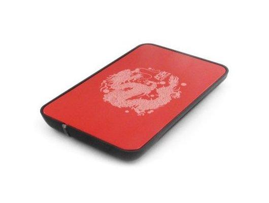 "Корпус для жесткого диска AgeStar 3UB2A8 usb3.0 to 2.5""hdd SATA (Red)"