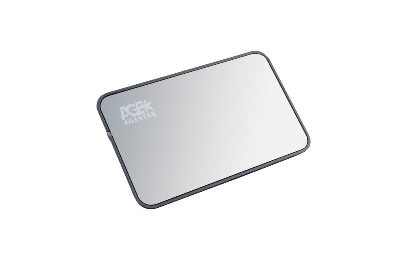 "Корпус для жесткого диска AgeStar 3UB2A8 usb3.0 to 2.5""hdd SATA  Aluminum"