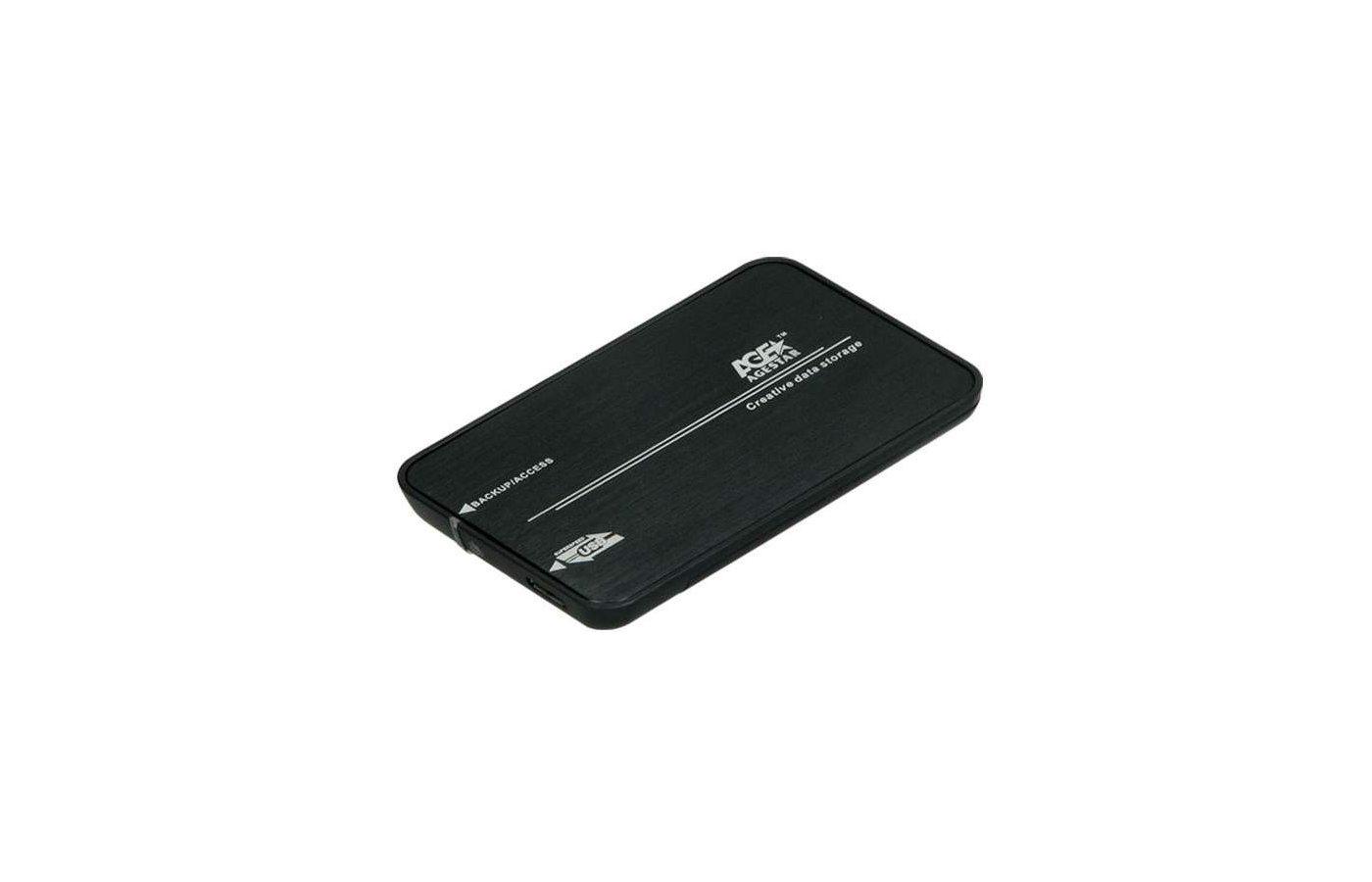 "Корпус для жесткого диска AgeStar 3UB2A8-6G usb3.0 to 2.5""hdd SATA (black)"