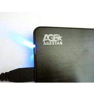 """Корпус для жесткого диска AgeStar 3UB2A8S-6G usb3.0 to 2.5""""hdd SATA (Silver)"""