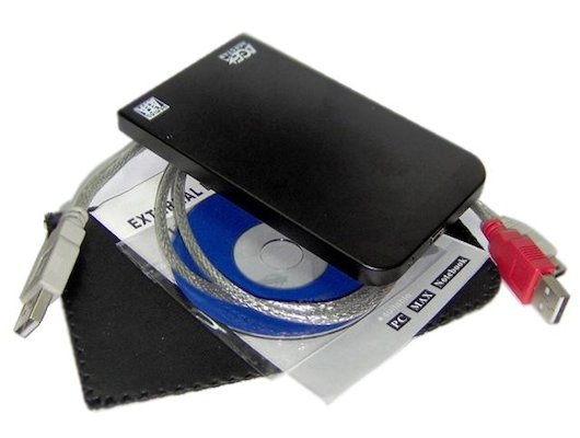 """Корпус для жесткого диска AgeStar SUB201 (черный) usb2.0 to 2.5""""hdd SATA"""