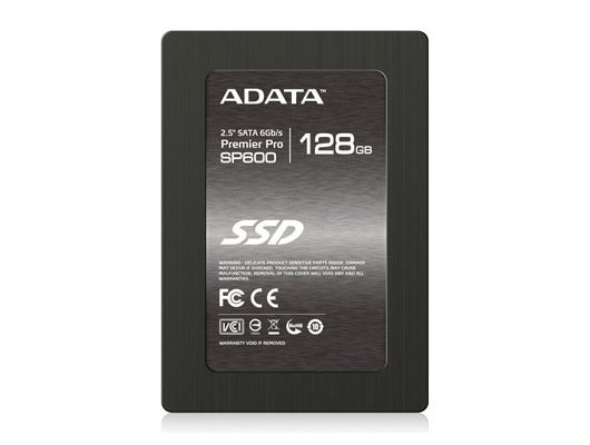 "SSD жесткий диск A-Data Original SATA-III 128Gb SP600 2.5"" w505Mb/s"