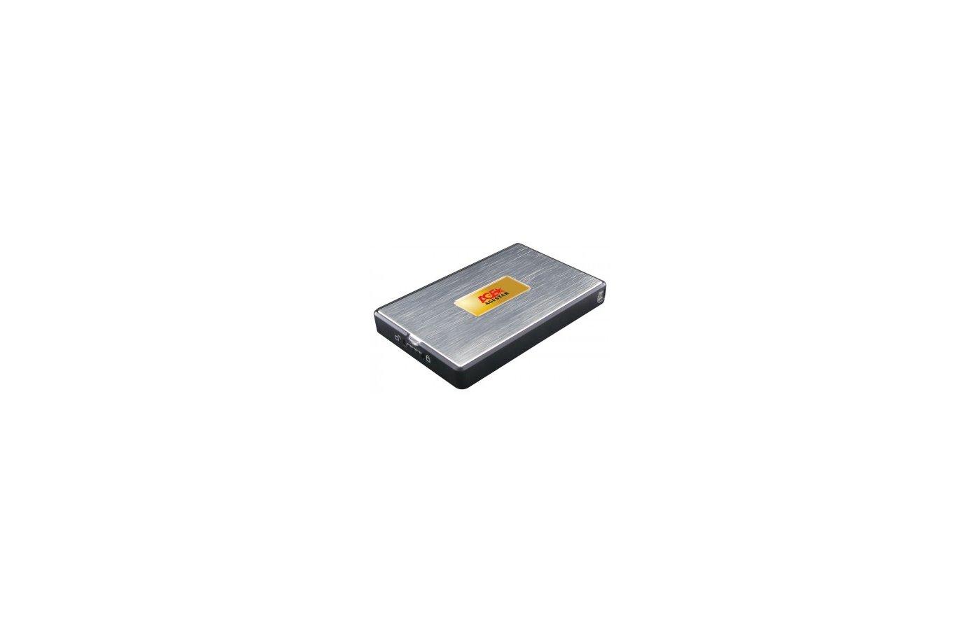 "Корпус для жесткого диска AgeStar SUB2A11 usb2.0 to 2.5"" HDD/SSD SATA.Aluminum"
