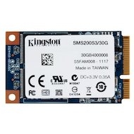 Фото SSD жесткий диск Kingston mSATA 30Gb SMS200S3/30G SSDNow mS200 w510Mb/s r550Mb/s MLC
