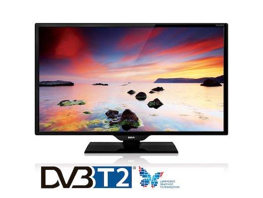 LED телевизор BBK 24LEM 1010/T2C black