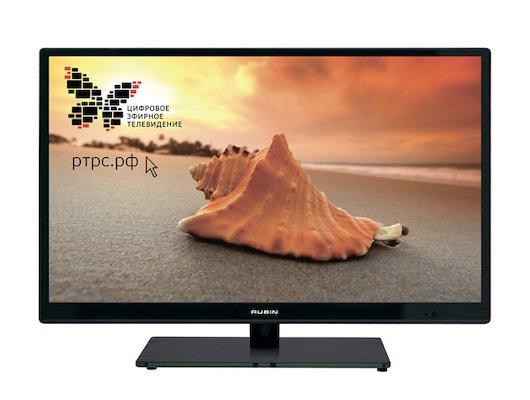 LED телевизор RUBIN RB 19SE5T2C black