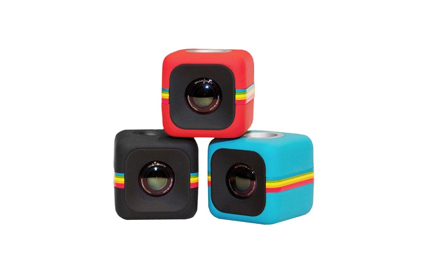 Экшн-камера Polaroid Cube красный