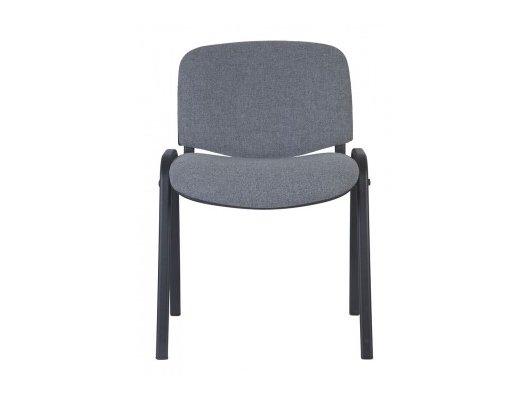 Бюрократ стул Виси черный/серый серый 10-128