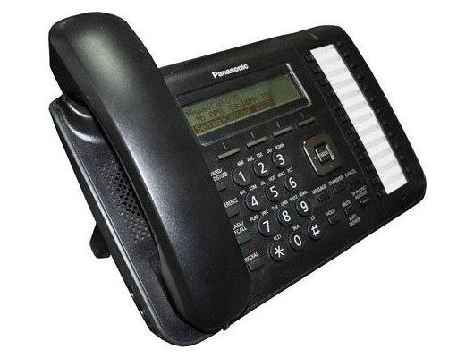 IP Телефон PANASONIC KX-NT543RU-B черный