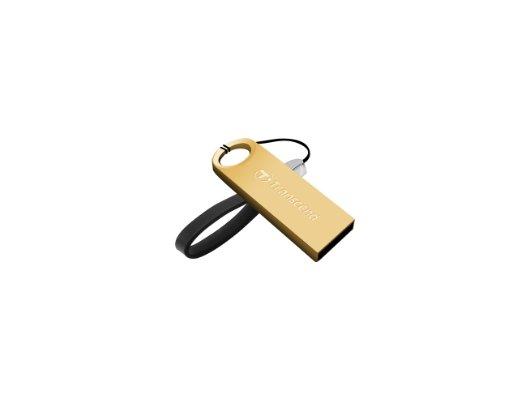 Флеш-диск Transcend 64Gb JetFlash 520G TS64GJF520G USB2.0 золотистый