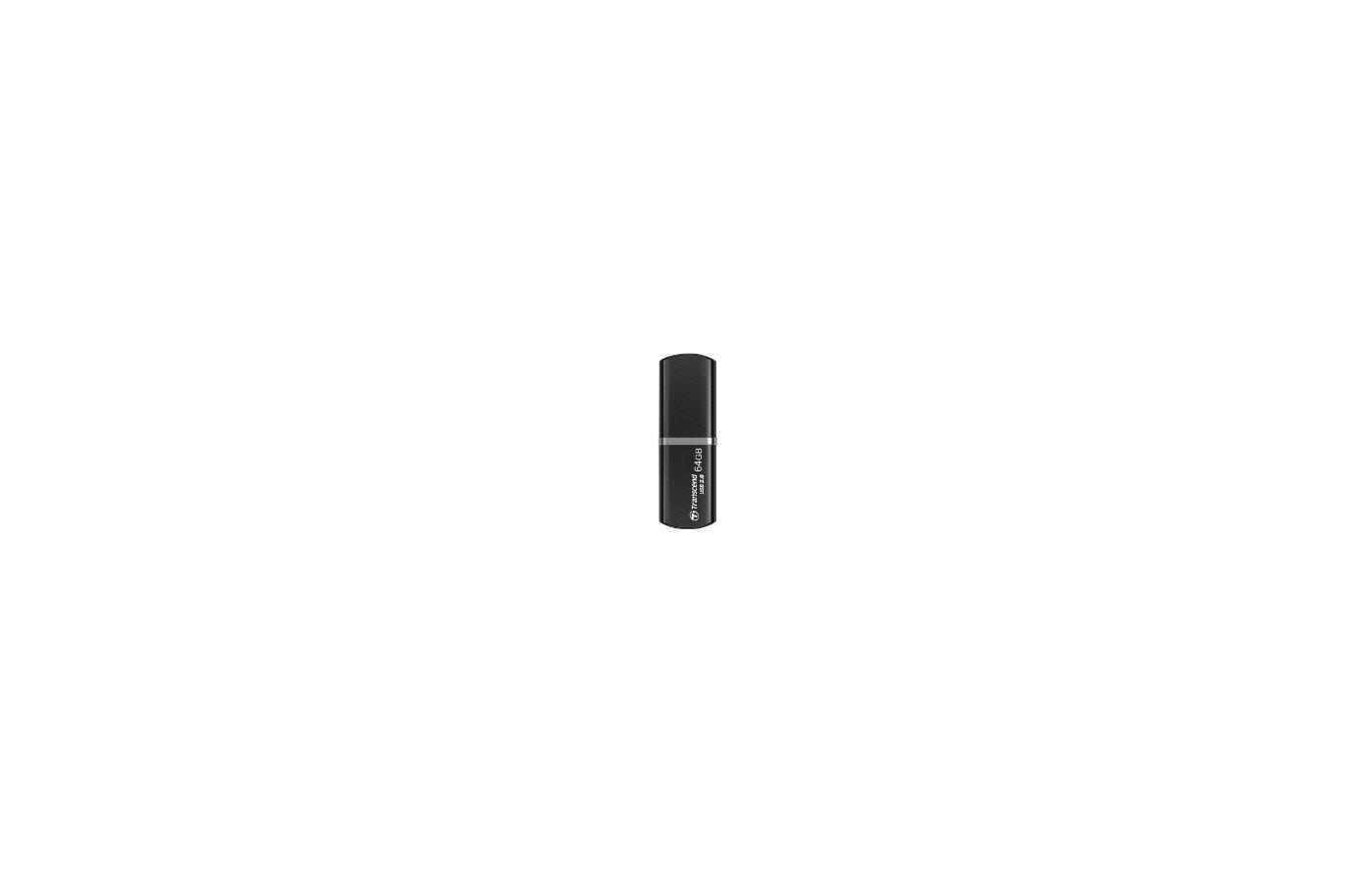 Флеш-диск Transcend 64Gb JetFlash 320K TS64GJF320K USB2.0 черный