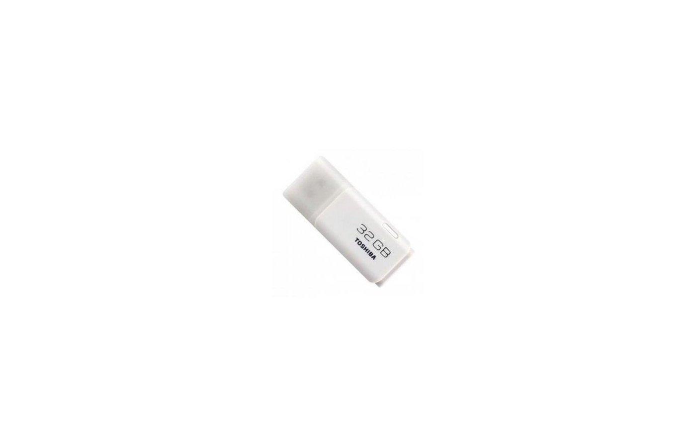 Флеш-диск Toshiba 32Gb TransMemory Hayabusa THNU32HAY(BL5 USB2.0 белый