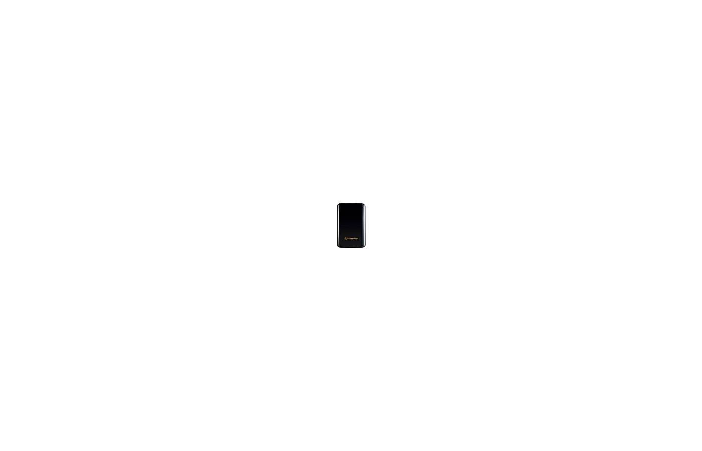 """Внешний жесткий диск Transcend USB 3.0 1Tb TS1TSJ25D3 StoreJet 25D3 2.5"""" черный"""