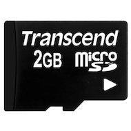Фото Карта памяти Transcend microSD 2Gb (TS2GUSDC)