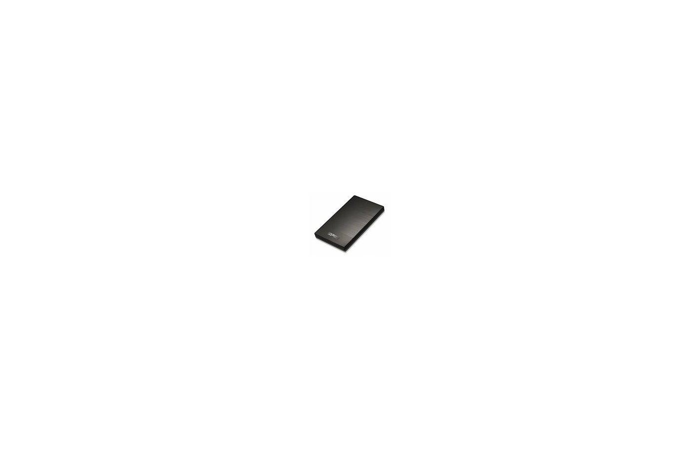 """Внешний жесткий диск Silicon Power USB 3.0 1Tb SP010TBPHDA60S3K 2.5"""" черный"""