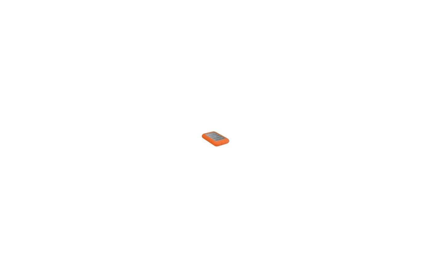 """Внешний жесткий диск Lacie USB 3.0 1Tb 301984 Rugged Triple 2.5"""" оранжевый"""