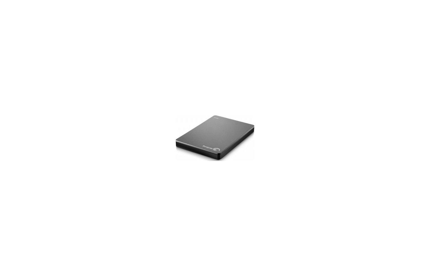 """Внешний жесткий диск Seagate STDR2000201 USB 3.0 2Tb Backup Plus Slim 2.5"""" серебристый"""