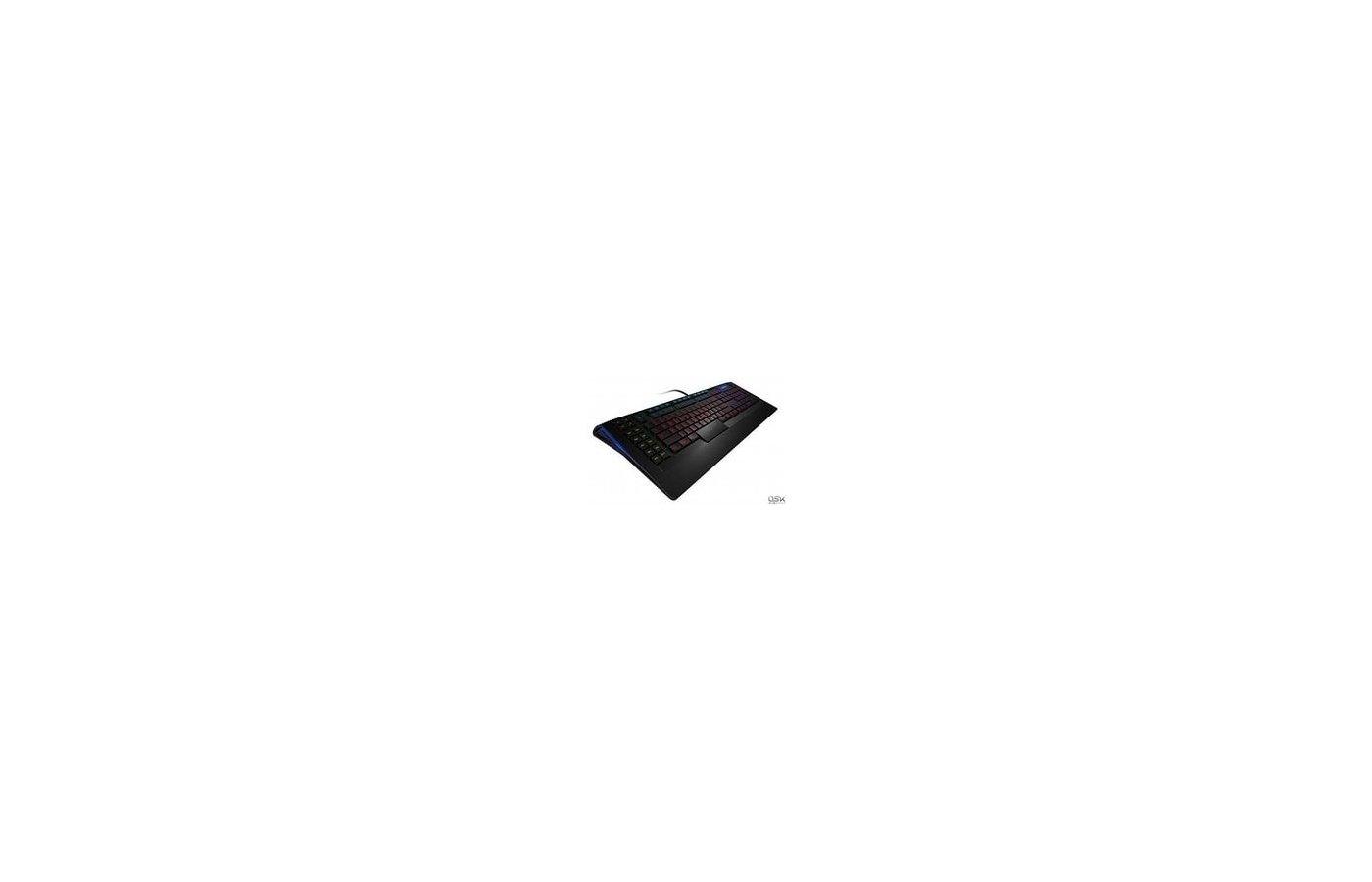Клавиатура проводная Steelseries APEX черный USB Multimedia Gamer LED