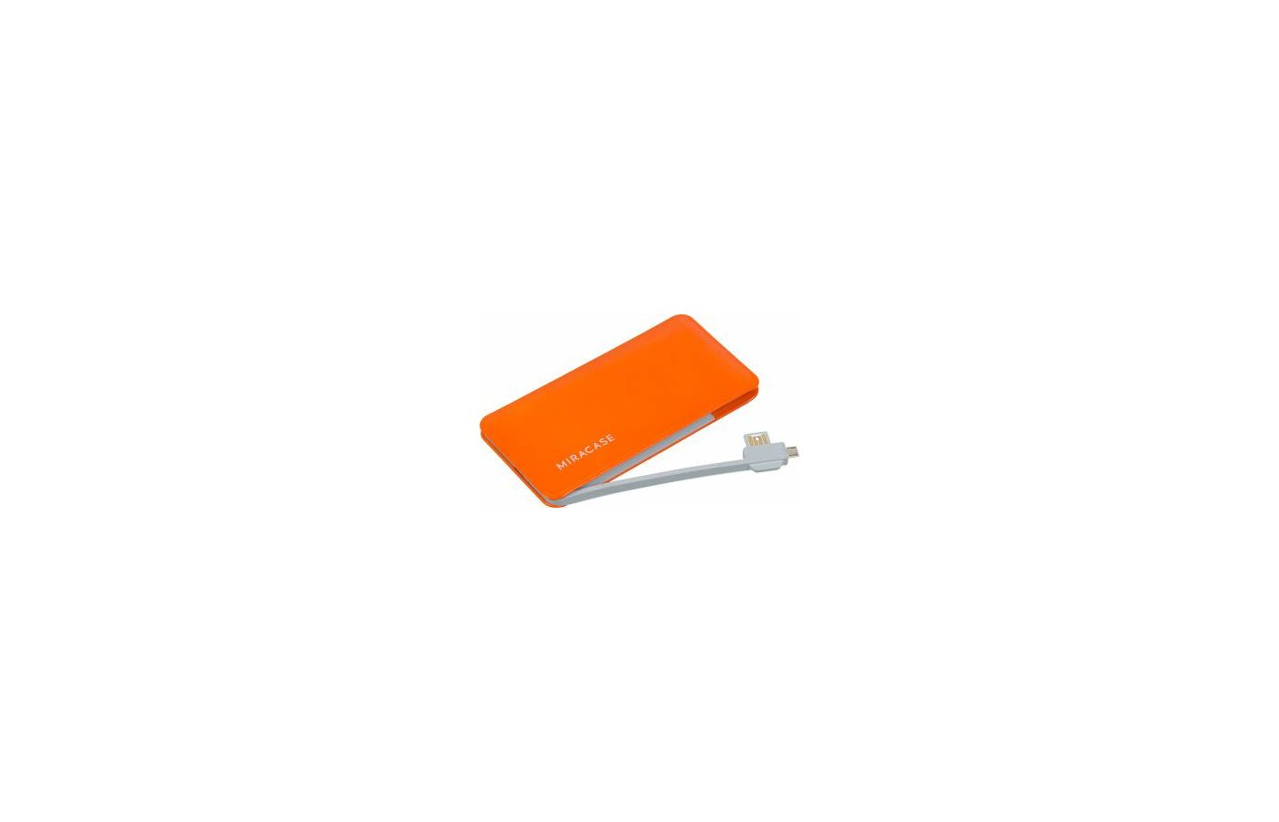 Портативный аккумулятор Miracase MACC-829 Li-Pol 6000mAh 2A оранжевый