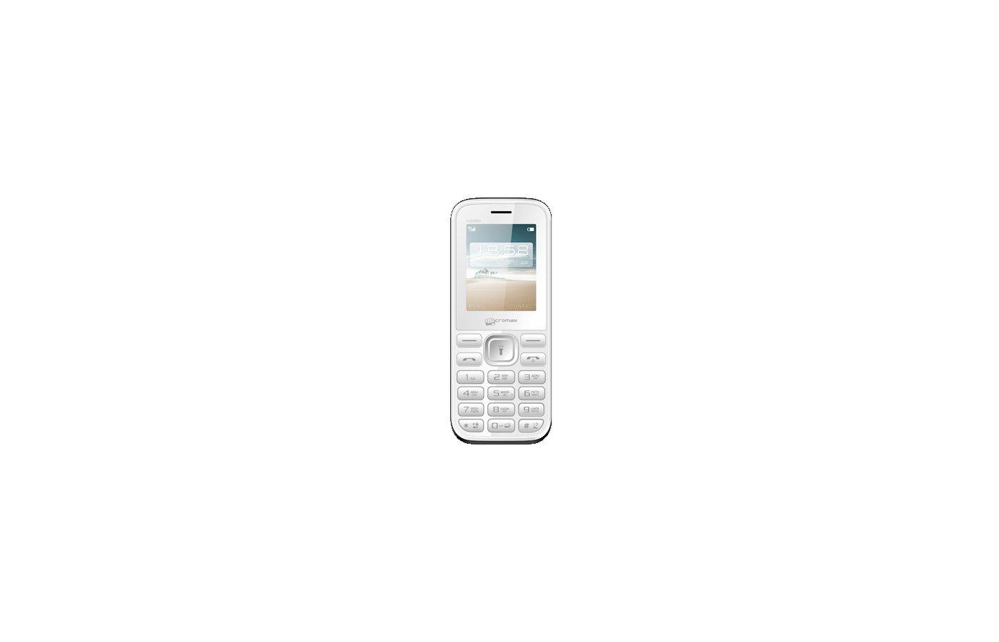 Мобильный телефон Micromax X2050 white