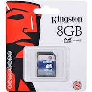 Карта памяти Kingston SDHC 8Gb Class 4 (SD4/8GB)