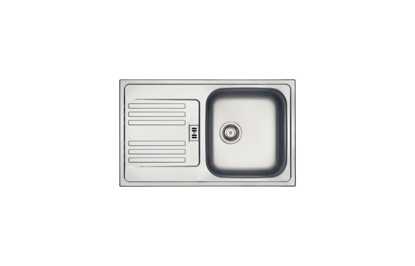 Кухонная мойка FRANKE EFN 614-78 Вентиль 3.5 + комплект для монтажа