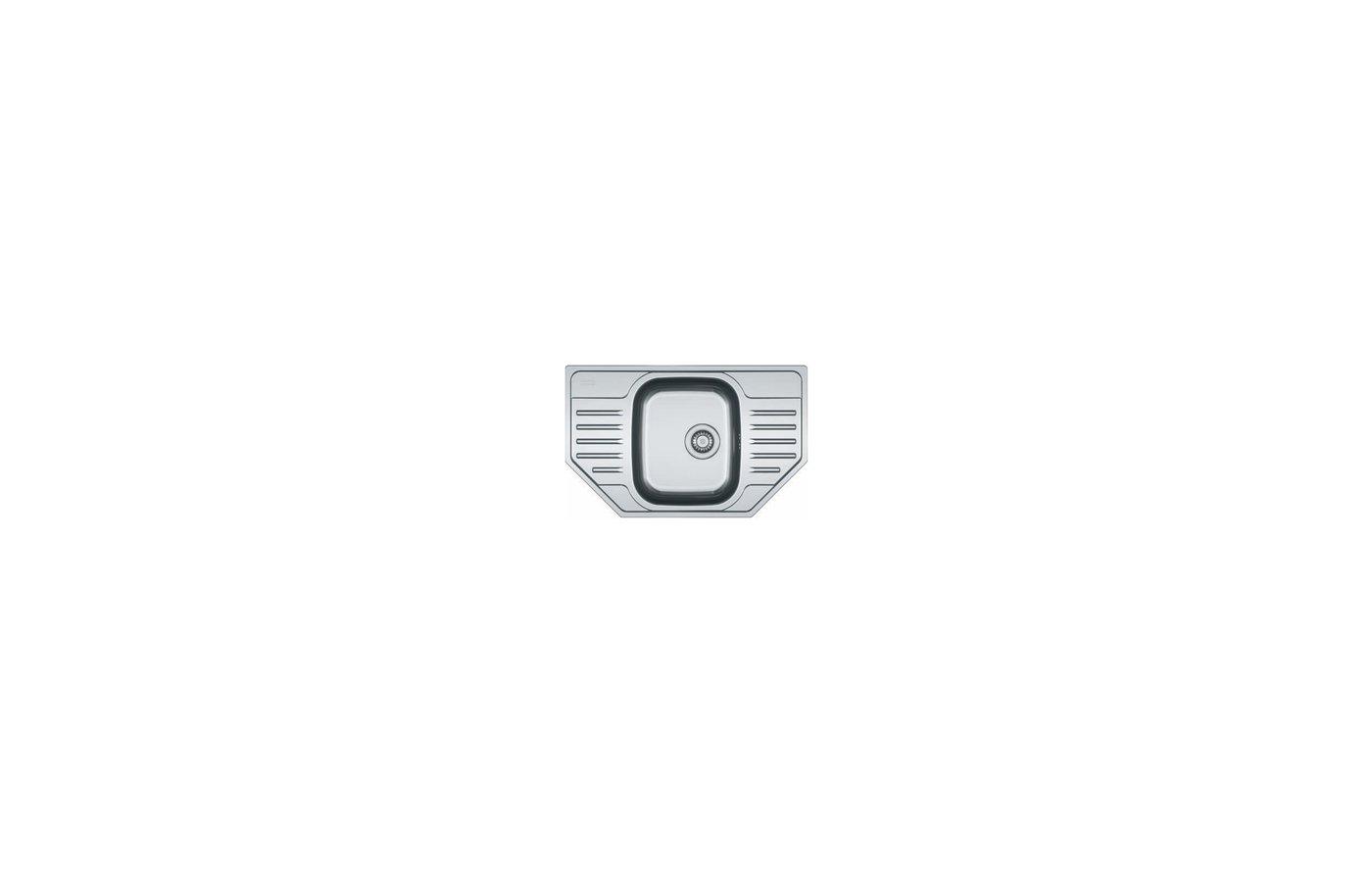 Кухонная мойка FRANKE POLAR PXN 612-E Стоп-вентиль 3.5 + комплект для монтажа